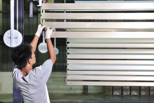 engineer powder coating aluminium