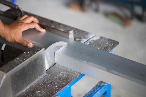 aluminium precision cutting